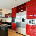 Desain Kitchen Set Aluminium Warna
