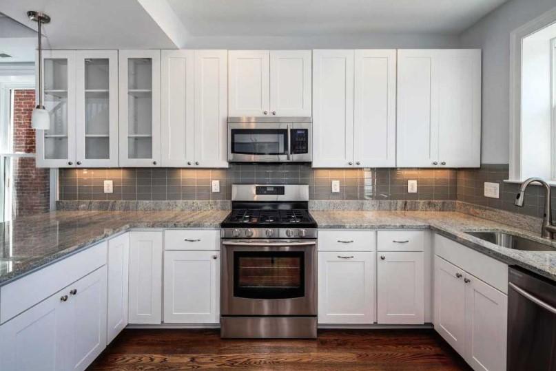 Desain Kitchen Set Aluminium Warna Putih