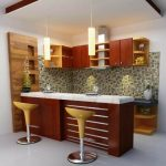 Desain Kitchen Set Dan Mini Bar