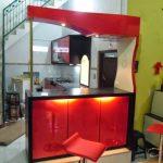 Desain Kitchen Set Dan Mini Bar Minimalis