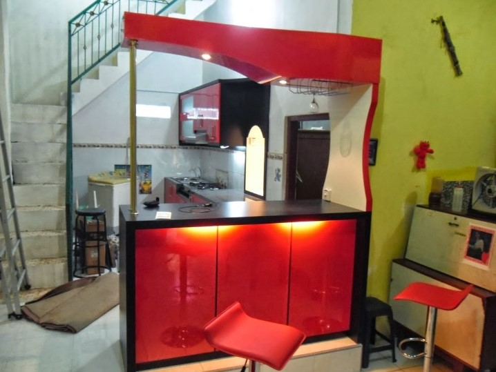 Desain Kitchen Set Dan Mini Bar Minimalis