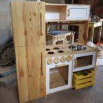 Desain Kitchen Set Dapur Kayu Jati
