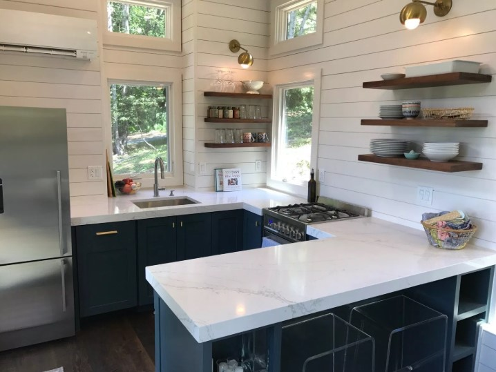 Desain Kitchen Set Dapur Kecil Minimalis 2019