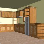 Desain Kitchen Set Dari Kayu