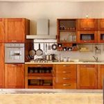 Desain Kitchen Set Dari Kayu Jati