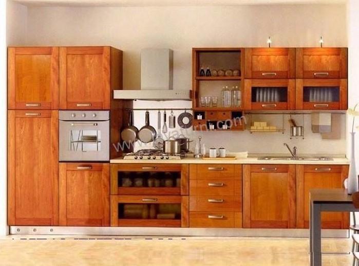 40 Desain Kitchen Set Kayu Jati Minimalis Terbaru 2020