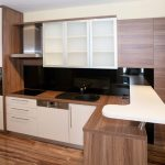 Desain Kitchen Set Dari Kayu Palet