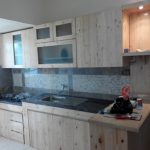 Desain Kitchen Set Kayu Buatan Sendiri