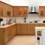 Desain Kitchen Set Kayu Mindi