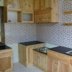 Desain Kitchen Set Kayu Palet