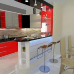 Desain Kitchen Set Mini Bar Ala Cafe