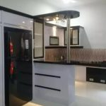 Desain Kitchen Set Mini Bar Aluminium