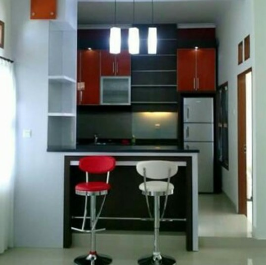 25 Desain Kitchen Set Mini Bar Dapur Minimalis Terbaru 2020