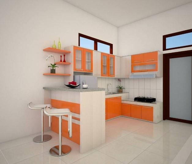 Desain Kitchen Set Mini Bar Kecil