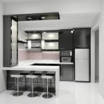 Desain Kitchen Set Mini Bar Minimalis