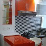 Desain Kitchen Set Minimalis Aluminium Dapur Kecil