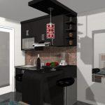 Desain Kitchen Set Minimalis Apartemen