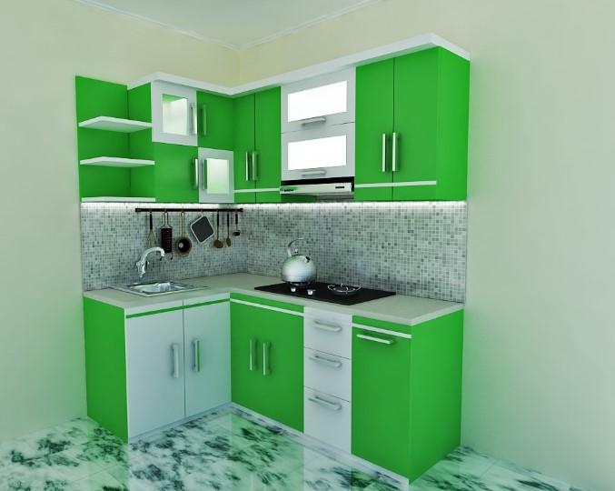 Desain Kitchen Set Minimalis Dapur Kecil Terbaru 2019