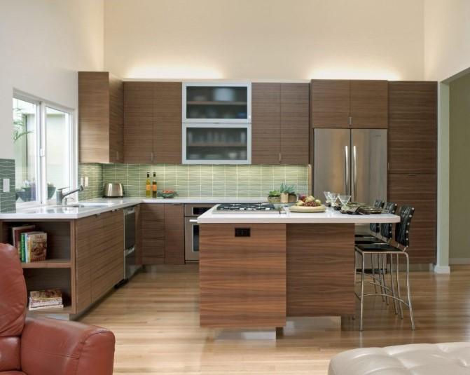 Desain Kitchen Set Minimalis Dari Kayu