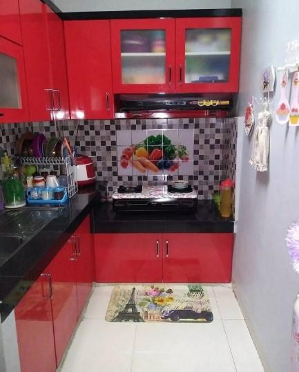 Desain Kitchen Set Minimalis Kayu Dapur Kecil