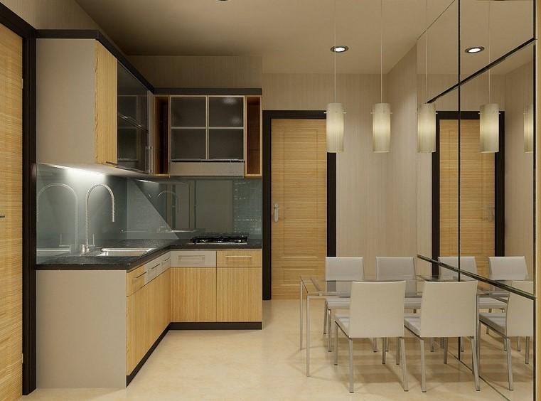 Desain Kitchen Set Minimalis Mewah