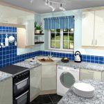 Desain Kitchen Set Minimalis Ruang Sempit