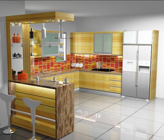 60 Model Kitchen Set Minimalis Modern Harga 2019