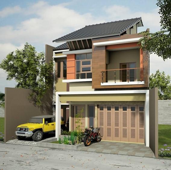 Desain Model Rumah Minimalis 2 Lantai Sederhana