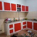 Desain Rak Kitchen Set Aluminium