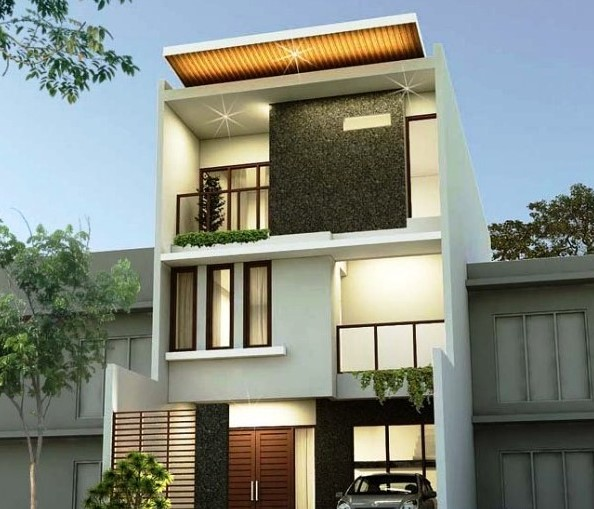 Desain Rumah 2 Lantai Sederhana Ukuran 6x12