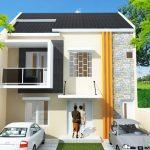 Desain Rumah 2 Lantai Sederhana Ukuran 6x9