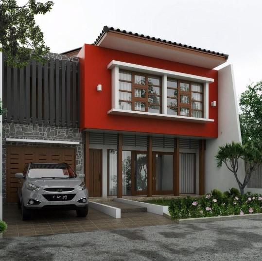Desain Rumah Minimalis 2 Lantai 6x12 Terbaru 2019