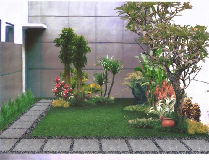 Desain Taman Belakang Rumah Sederhana