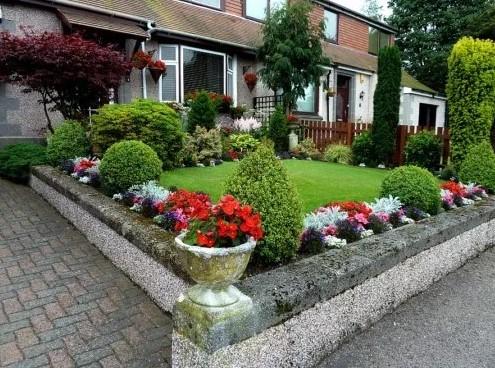 Desain Taman Bunga Halaman Rumah Sederhana
