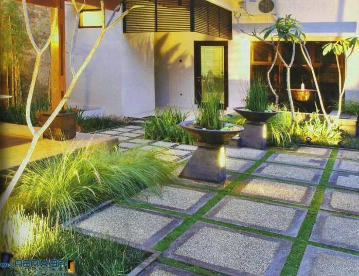 Desain Taman Depan Rumah Sederhana Yang Bagus