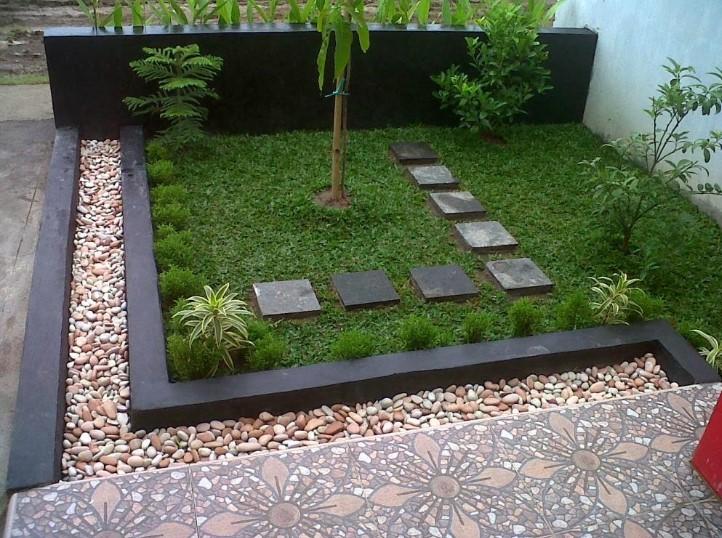Desain Taman Halaman Depan Rumah Sederhana