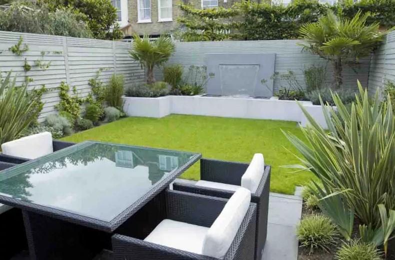 Desain Taman Rumah Asri Sederhana