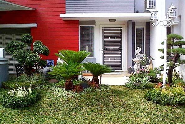 Desain Taman Rumah Sederhana Cantik