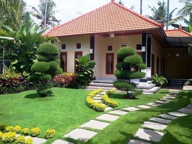 Desain Taman Sederhana Rumah Type 36