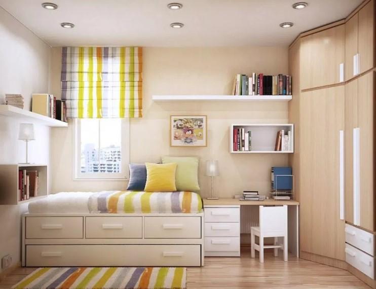 Desain Warna Kamar Tidur Sederhana