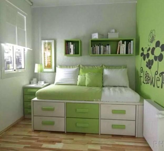 Desain Warna Kamar Tidur Ukuran 3×3