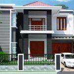Design Rumah Minimalis 2 Lantai Ukuran 6x12 Terbaru 2019