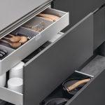 Drawer Design Kitchen Aluminum Set