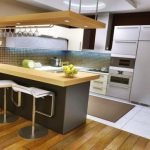 Foto Desain Kitchen Set Mini Bar