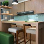 Foto Desain Kitchen Set Minimalis Dapur Sempit