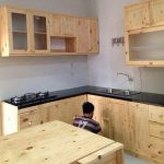Foto Kitchen Set Dari Kayu