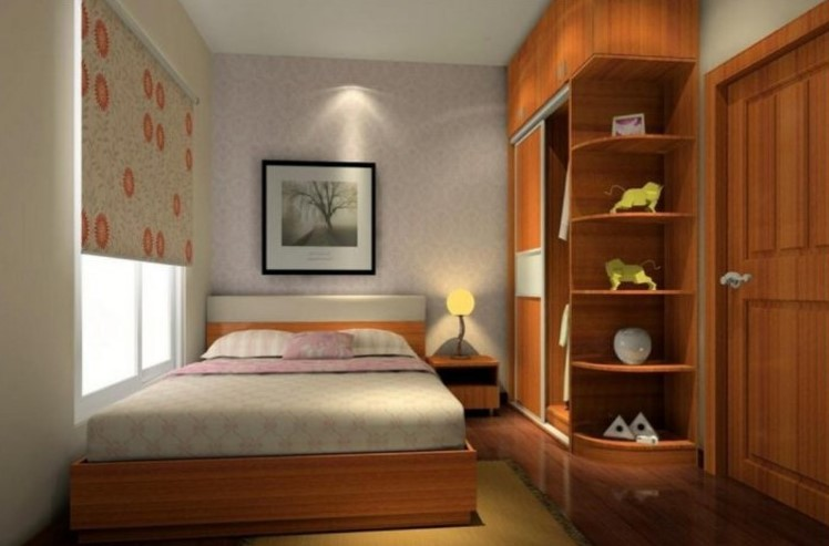 Gambar Desain Interior Kamar Tidur Minimalis 3x3
