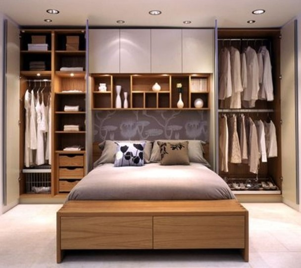 Gambar Desain Interior Kamar Tidur Minimalis