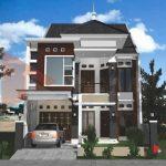 Gambar Desain Rumah Minimalis 2 Lantai 6x12