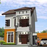 Gambar Desain Rumah Minimalis 2 Lantai Sederhana